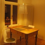 Tisch (abends)