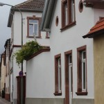 Gesindehaus neu - StraßenseiteFassade neu