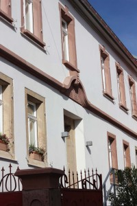 Neu: Winzerhaus Hofseite