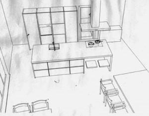 Kochwerkstatt Planung
